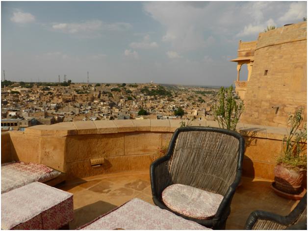 View of Jaisalmer City from Killa Bhawan