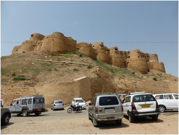 Jaisalmer Fort view First Gate hotel