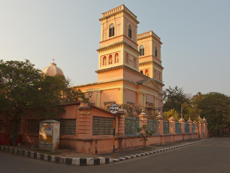 Shanti walk à Pondichéry
