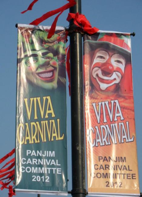 Affiches du carnaval de Goa