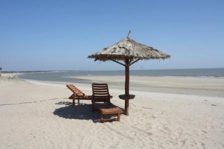 Beach at Mandvi Palace