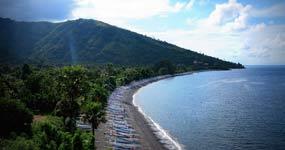 Amed Beach in Bali