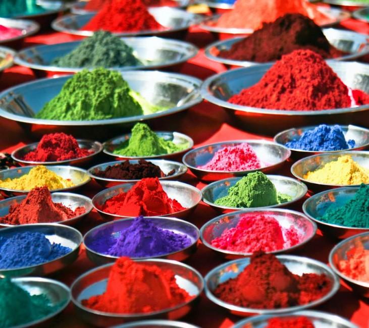 Les couleurs d'Holi