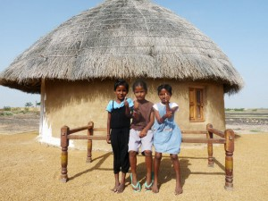 Village Children at Pabu ki Dhani