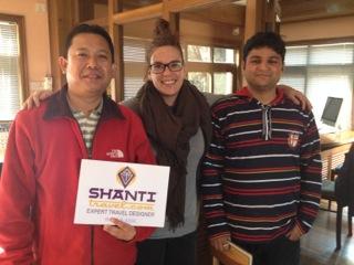 L'équipe Shanti Travel Népal