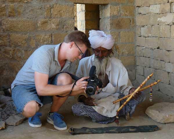 Tournage vidéo Inde