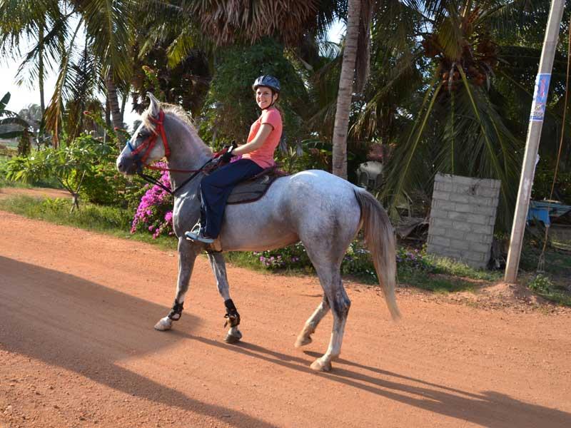 Promenade à cheval au Sri Lanka