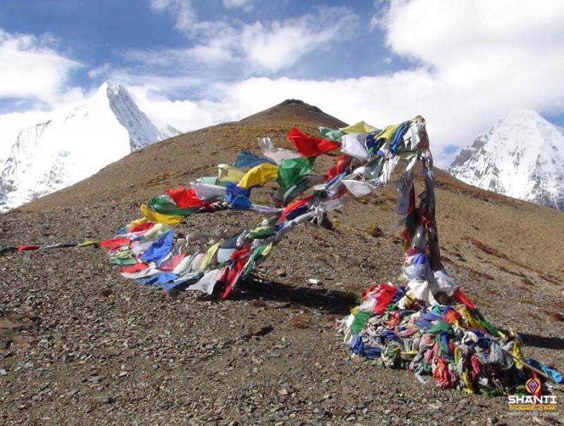 Passage de col au Bhoutan