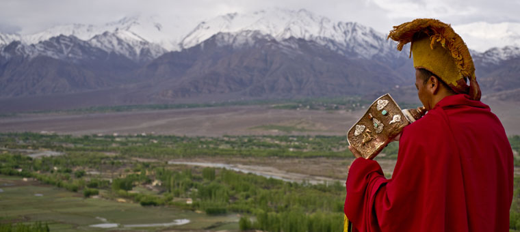 Ladakhi Monk in the Himalayas