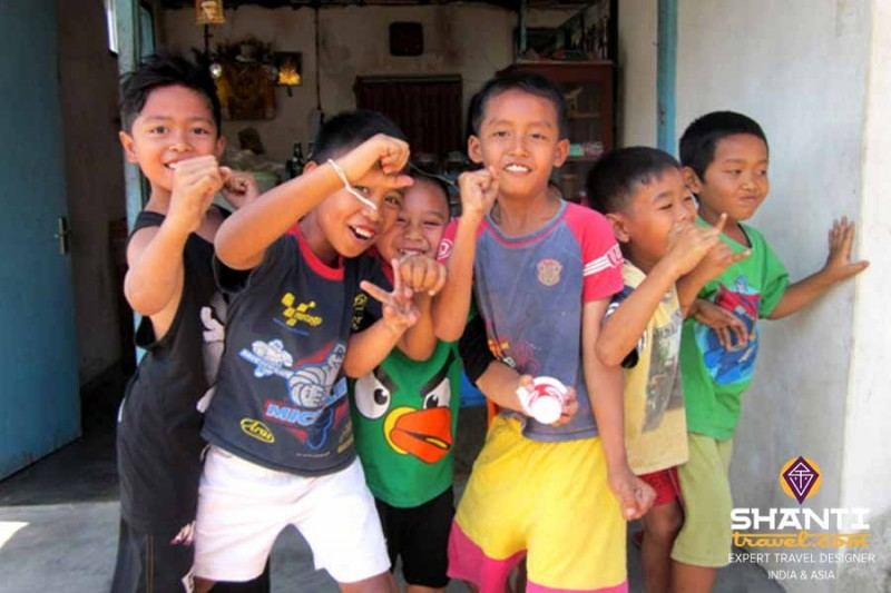 Enfants Indonésie