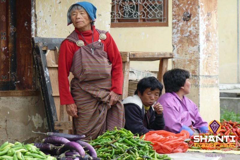 Marché Centenaire de Thimphu