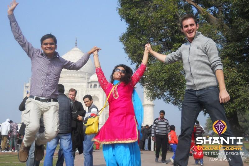 L'enthousiasme d'un voyage en Inde