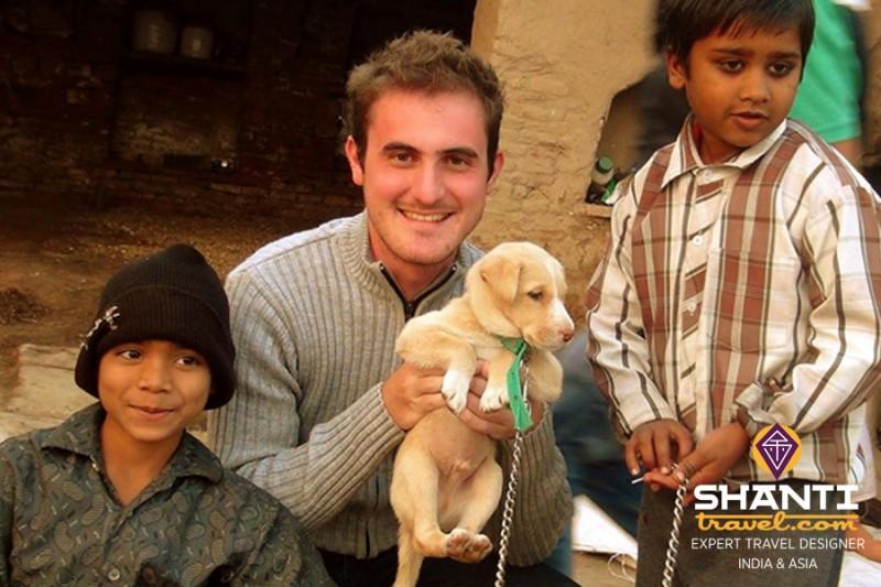 La joie d'un voyage en Inde