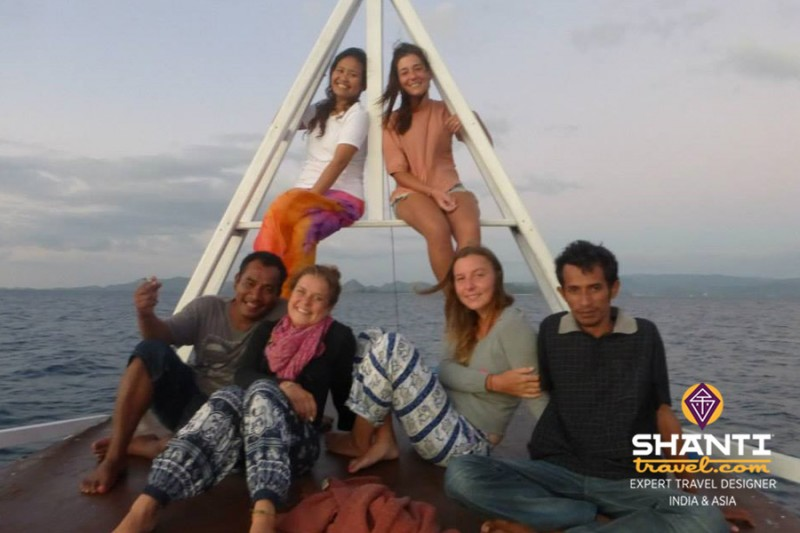 Croisière à Komodo