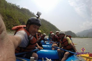 Rafting au Népal