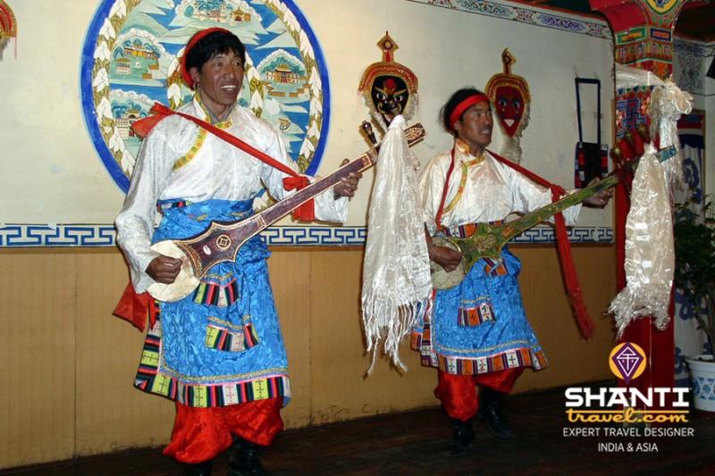 Concert à Lhasa