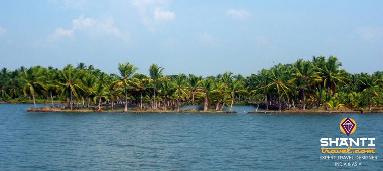 Backwaters au Kerala