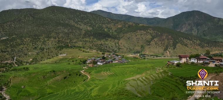 Bhoutan Eté