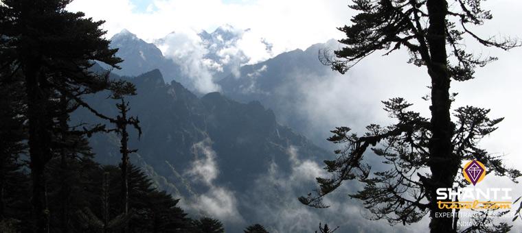 Bhoutan Hiver