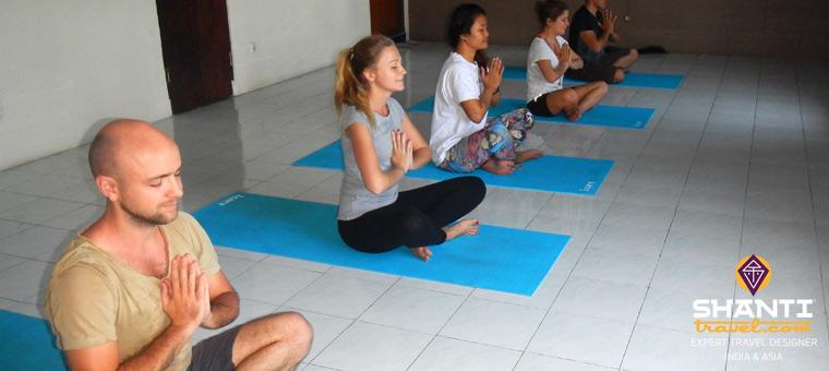 Cours de yoga Bali