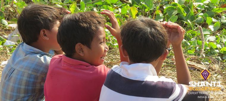 Enfants à Bali