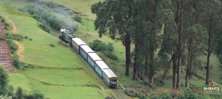Toy train ride from ooty to coonoor