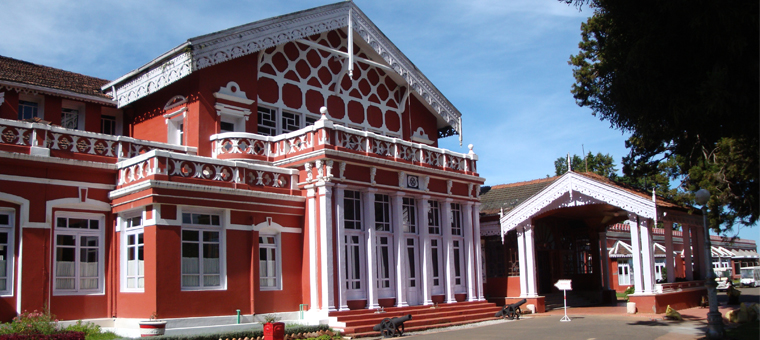 Fernhill Palace in ooty
