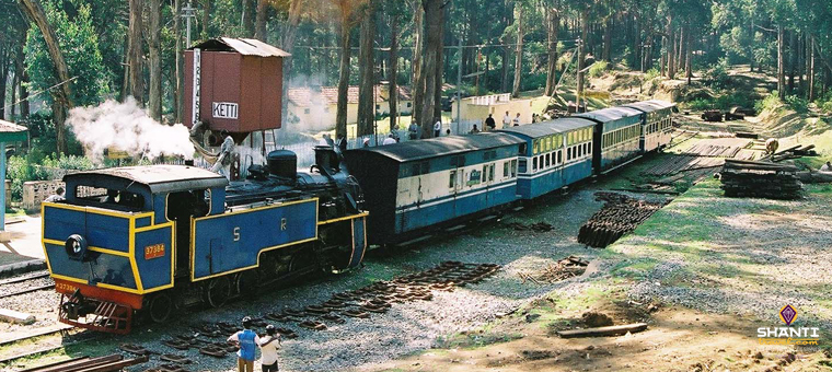 Traveling to Ooty to Coonoor in a toy train