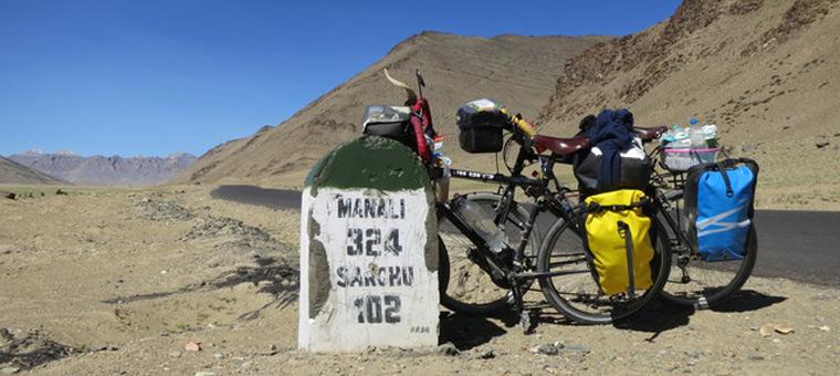 Manali à vélo