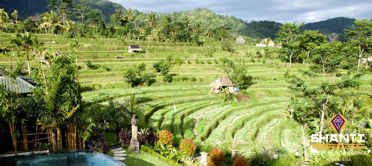 Vacances de printemps en Indonésie