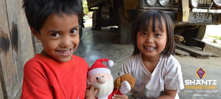 Enfants Toraja