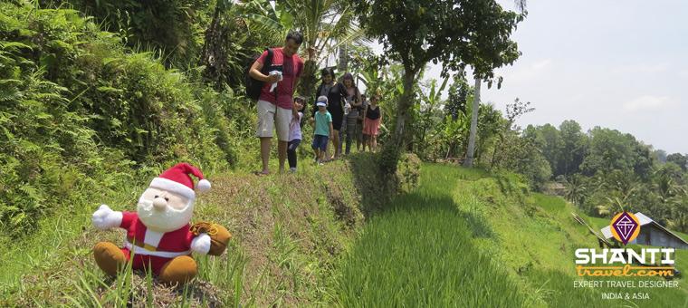 Famille Noël Bali