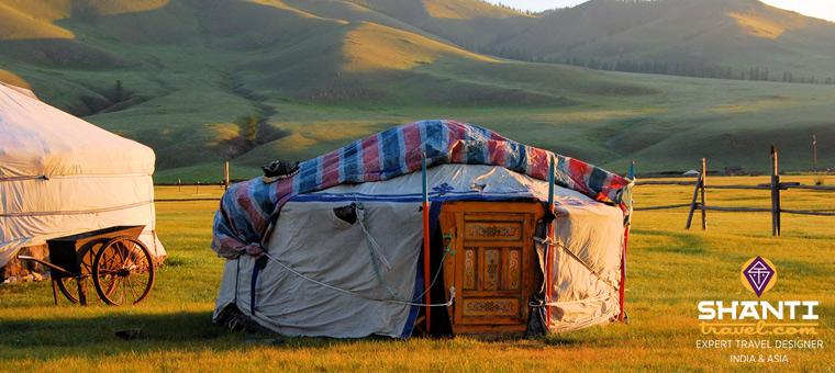 Mongolie en été