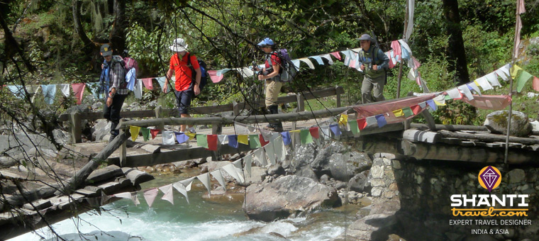 Trek au Bhoutan