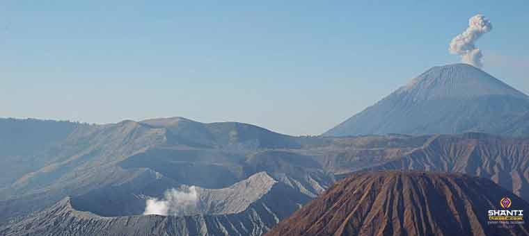 Mount Semeru in East Java
