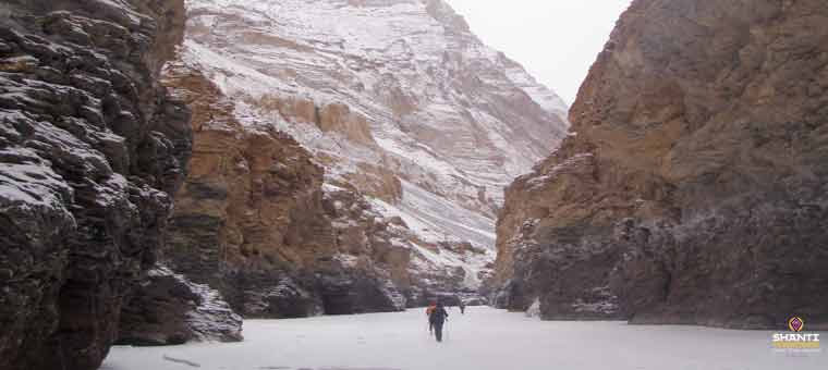 frozen river trek in Chadar
