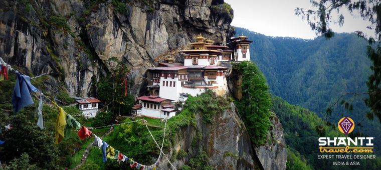 Nid du Tigre Bhoutan