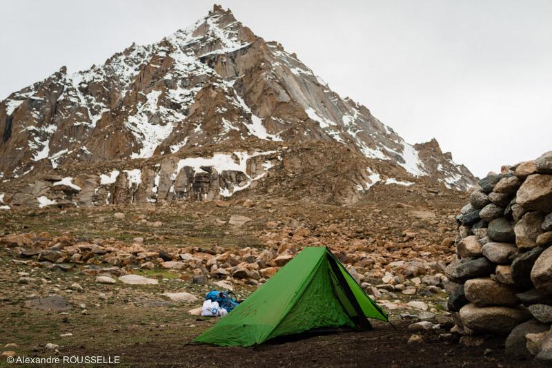 Sous la tente au Ladakh