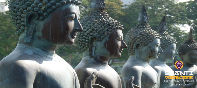 Ceylan : ile aux temples