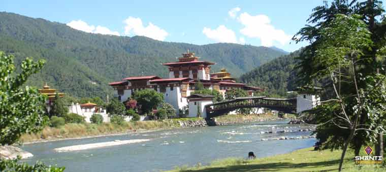 Dzongs in Bhutan
