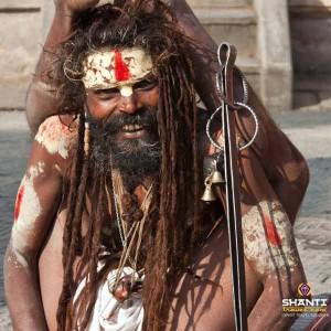 Yogi Sadhu In Rishikesh