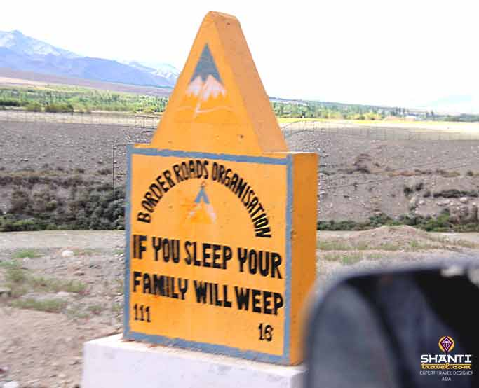 Road Signs of Ladakh