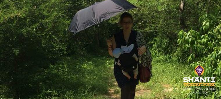 Trekking avec un bébé
