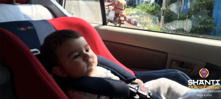 voyage en inde avec un bébé