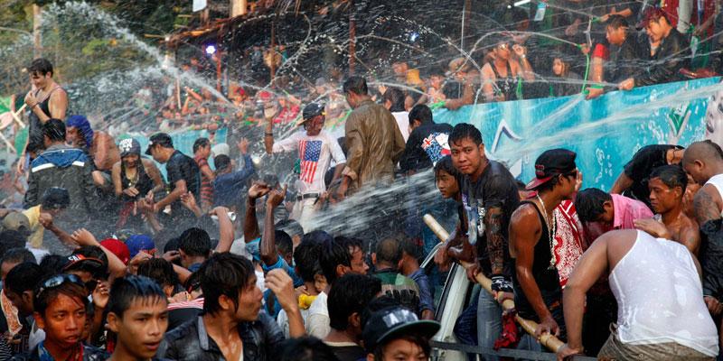 Burma Water festival