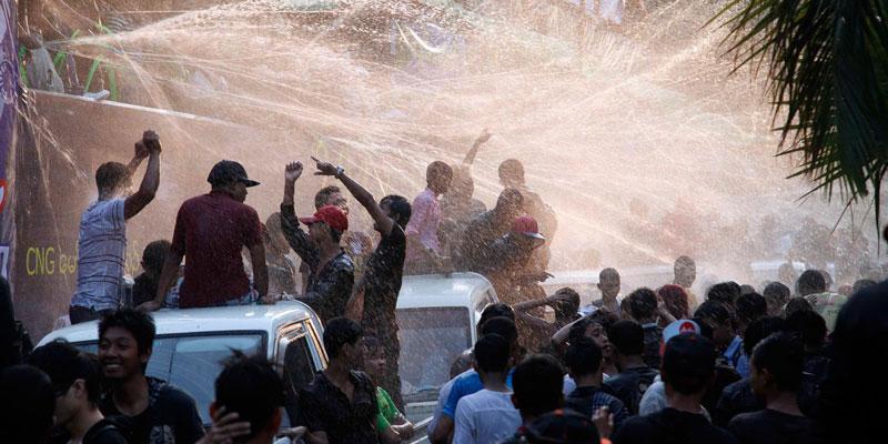 Water Festival Burma
