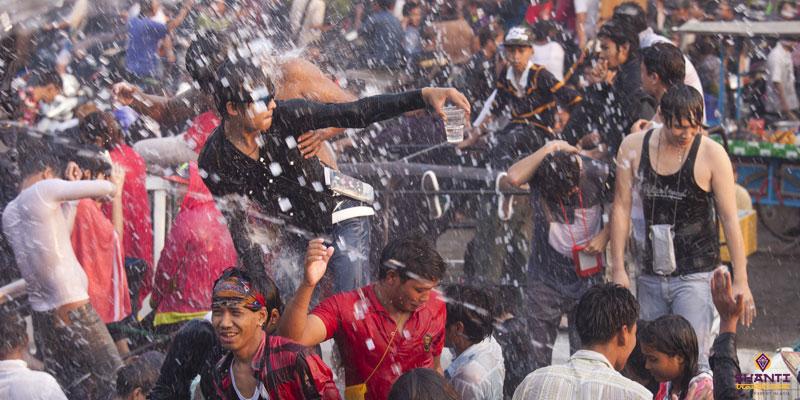 Myanmar Water Festival
