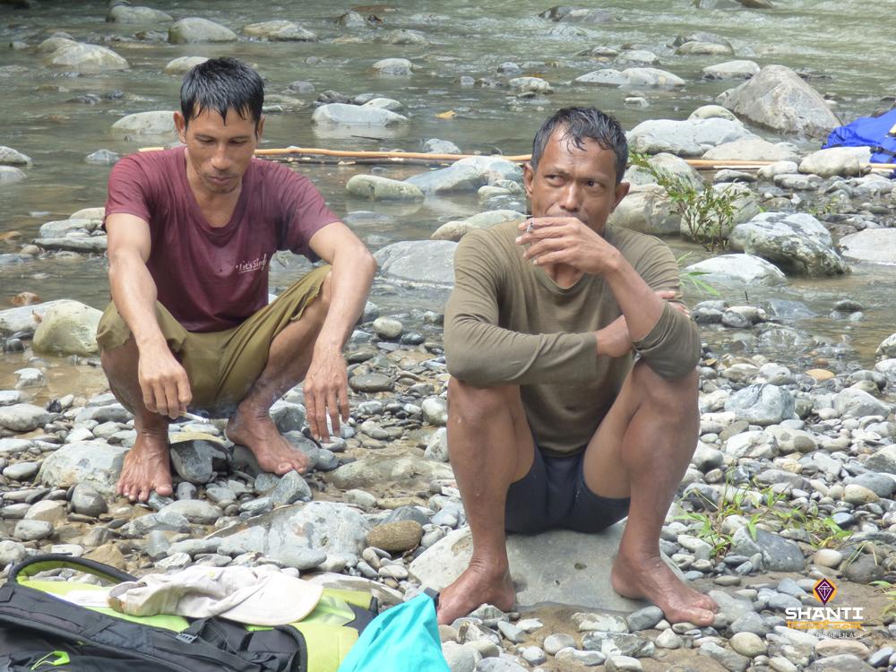 André et Ali Tubing Leuser