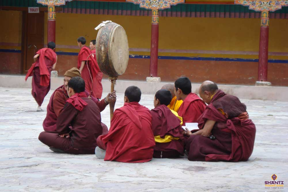 Religious Practices during Hemis Festival
