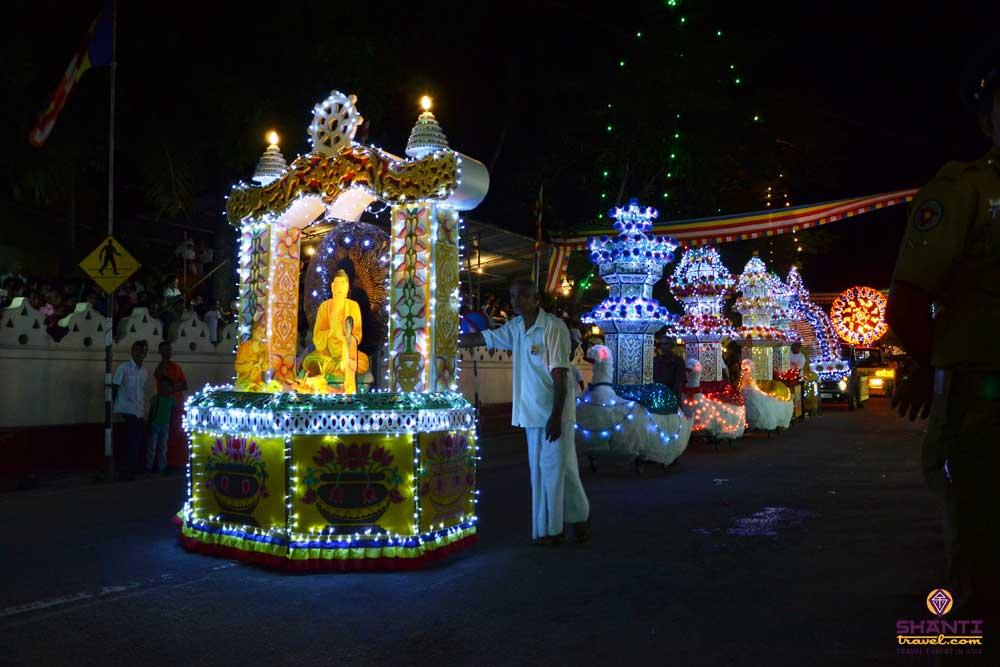 The Vesak Festival in Colombo – an enchanting Buddhist celebration